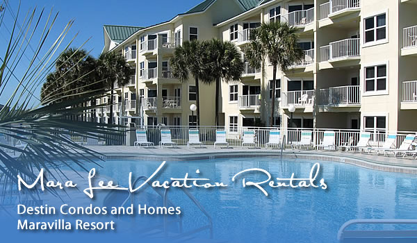 Destin Florida Vacatin Rentals with Mara Lee